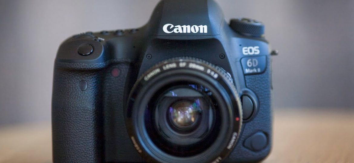 The Canon 6D Mark ii is awesome!