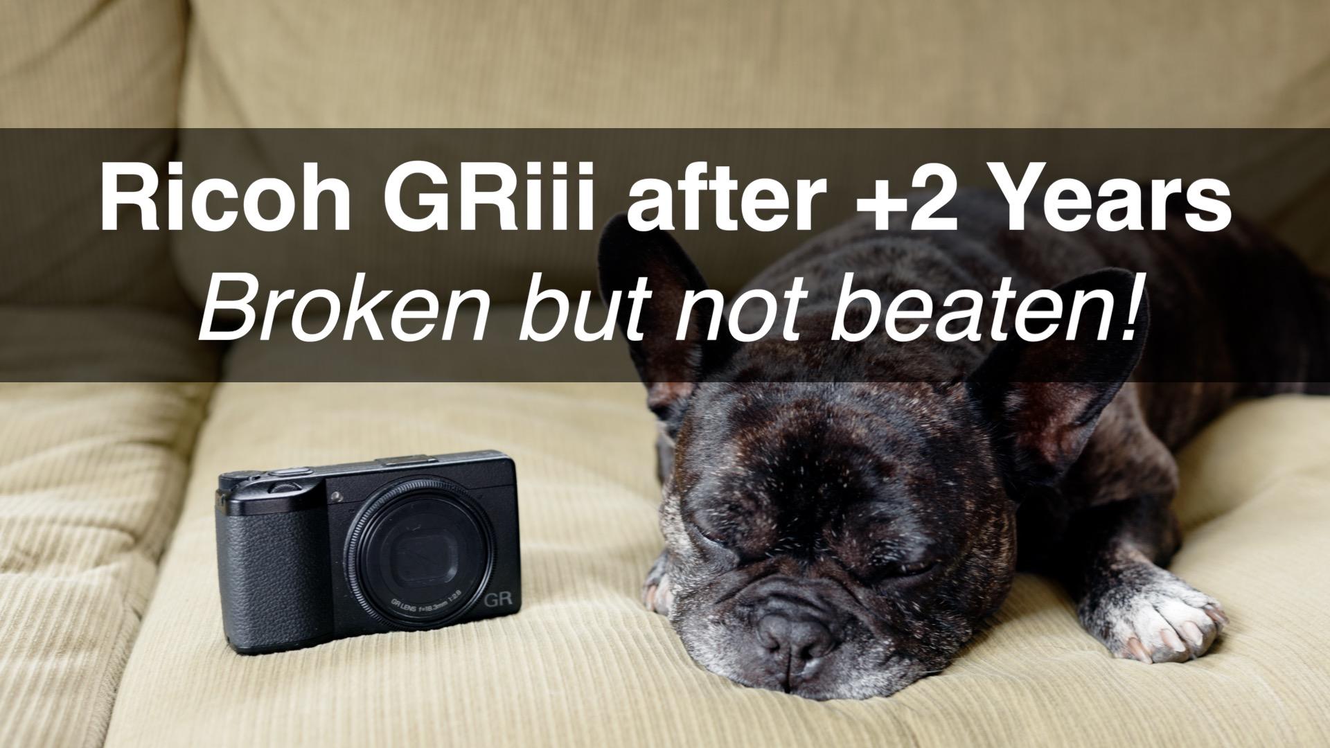 Ricoh GR3 Broken Review