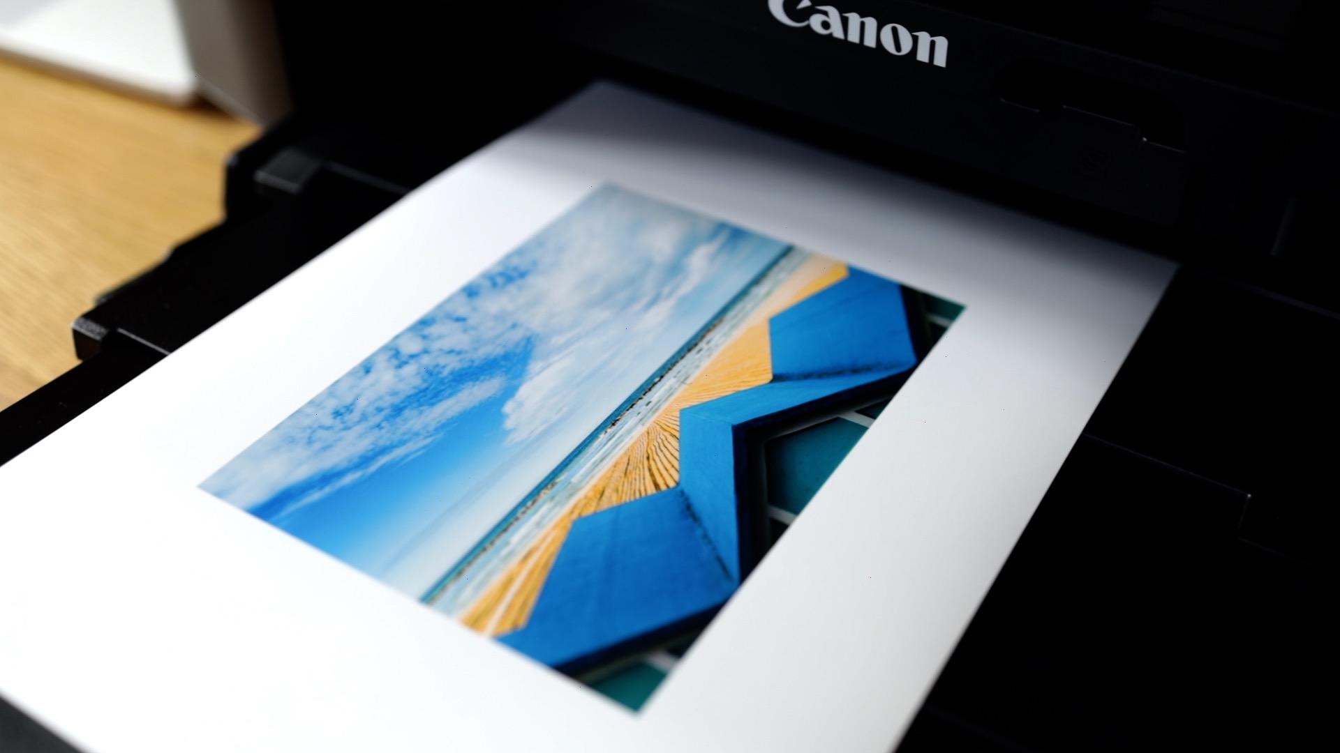 Printing photos at home